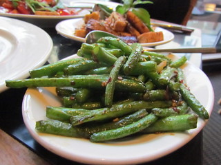 Sichuan Green Beans at Wild Ginger