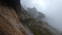 Abri dans la bergerie de Scaffa pendant l'orage