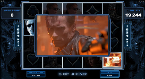Terminator 2 Big Win
