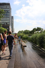Water Feature on The High Line