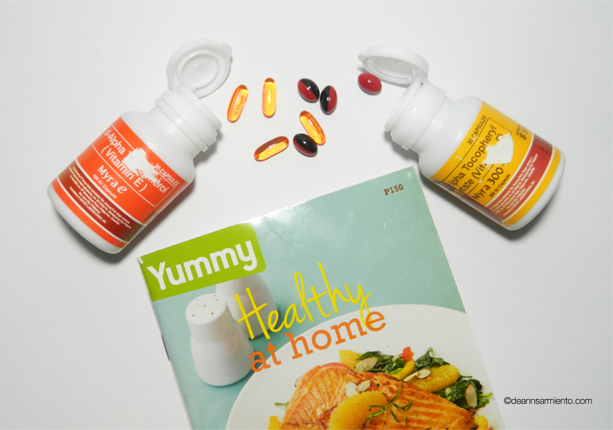 Myra Holistic Skin Care Bottle, Tablets, Recipe Book