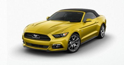 2015 Mustang Convertible