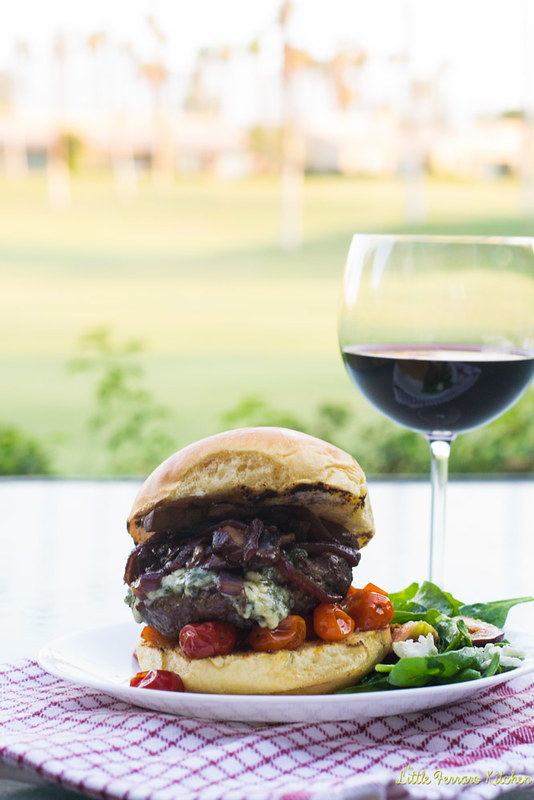 The Classy Burger via LittleFerraroKitchen #BurgerMonth
