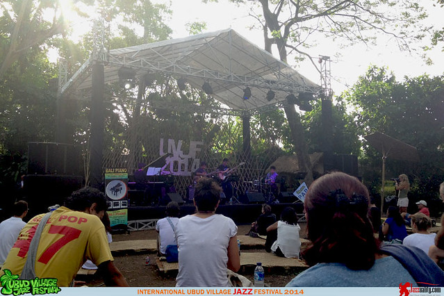Ubud Village Jazz Festival 2014 - OpenMind Quartet (1)