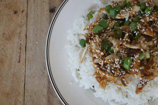 slow cooker honey sesame chicken DSC09228
