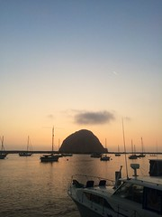 Part II, Day 4: Morro Rock in Morro Bay at sunset