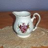 Vintage Shabby Chic Small Pitcher or Creamer with Roses