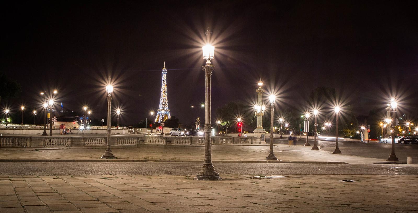 Sparkles, La Place de la Concorde