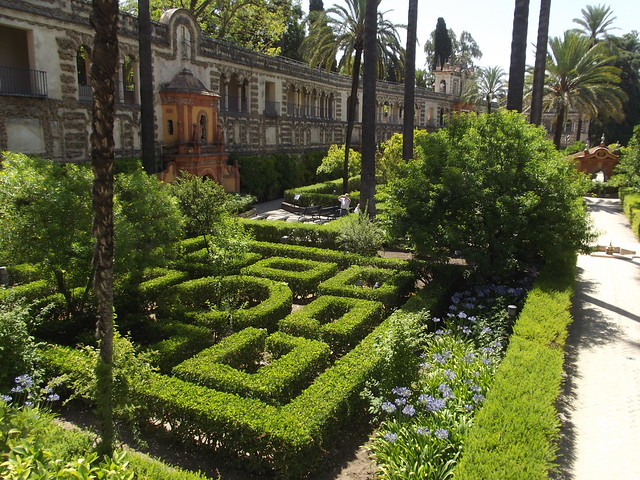 Real alc zar seville gardens grotto gallery jard n for Jardin pronunciation