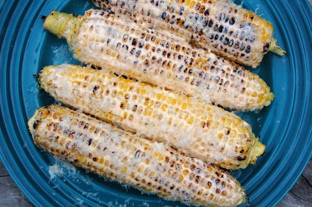 Mexicanish sweet corn by Eve Fox, The Garden of Eating, copyright 2014