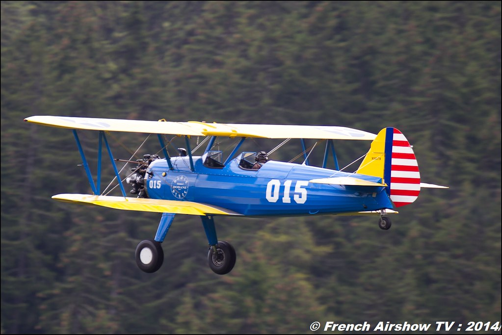 PT-17 Stearman courchevel 2014
