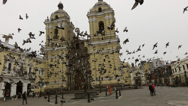 San Francisco cathedral in Lima, Peru
