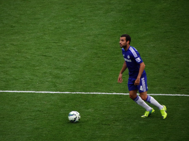 Chelsea FC midfielder Cesc Fabregas