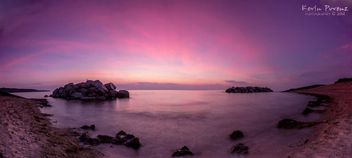 morning sky lake beach water wisconsin sunrise early rocks pano august panoramic lakemichigan milwaukee 2014 klodepark kevinpovenz