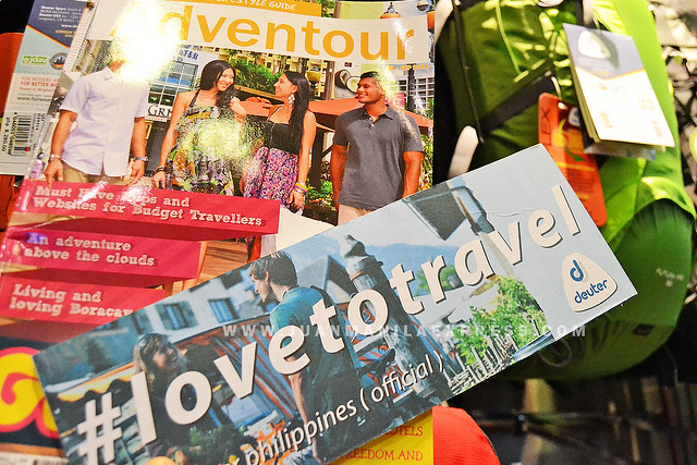 ADVENTOUR ISSUE NO. 4. Adventour magazine is a perfect travel companion as well as the Deuter backpacks.