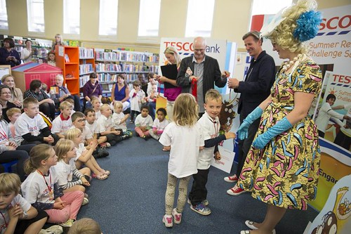 Tesco Bank Summer Reading Challenge Scotland at Leith Library