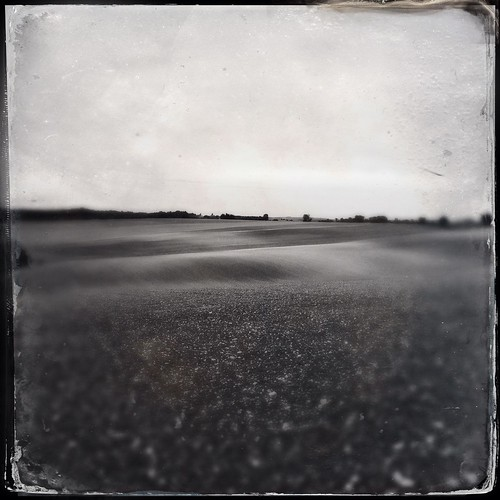 blackandwhite bw blur field square landscape blurry noiretblanc nb paysage flou champ carré iphone iphoneography hipstamatic dtypeplate tinto1884