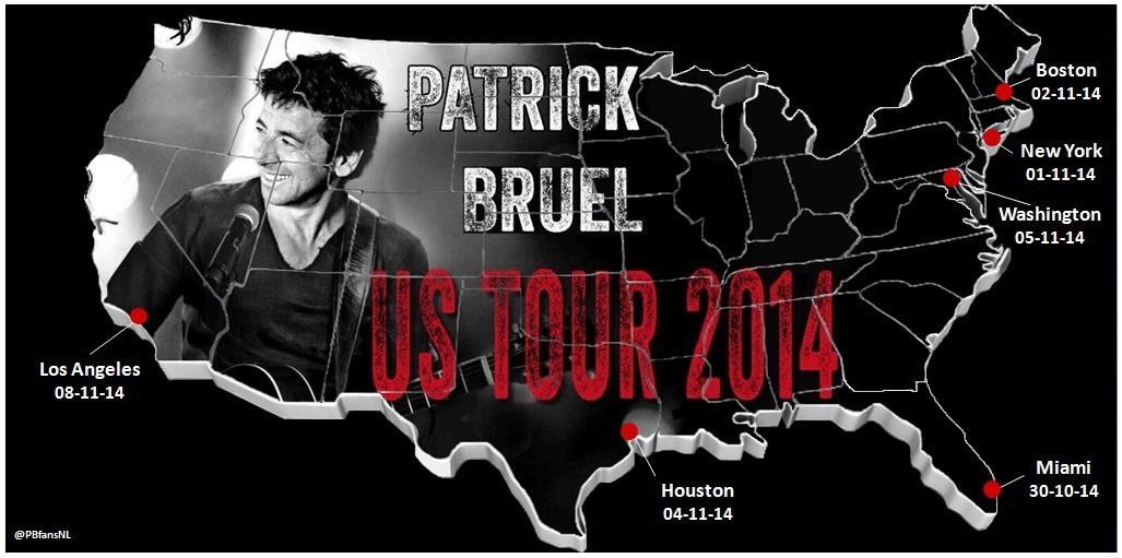 Patrick Bruel US TOUR 2014