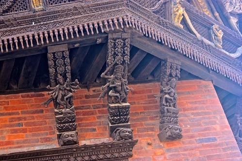Durbar Square architectural details