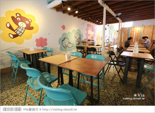 【阿朗基咖啡】台南店開幕囉!台南老屋餐廳推薦~老屋改造+可愛療癒系的新餐廳23