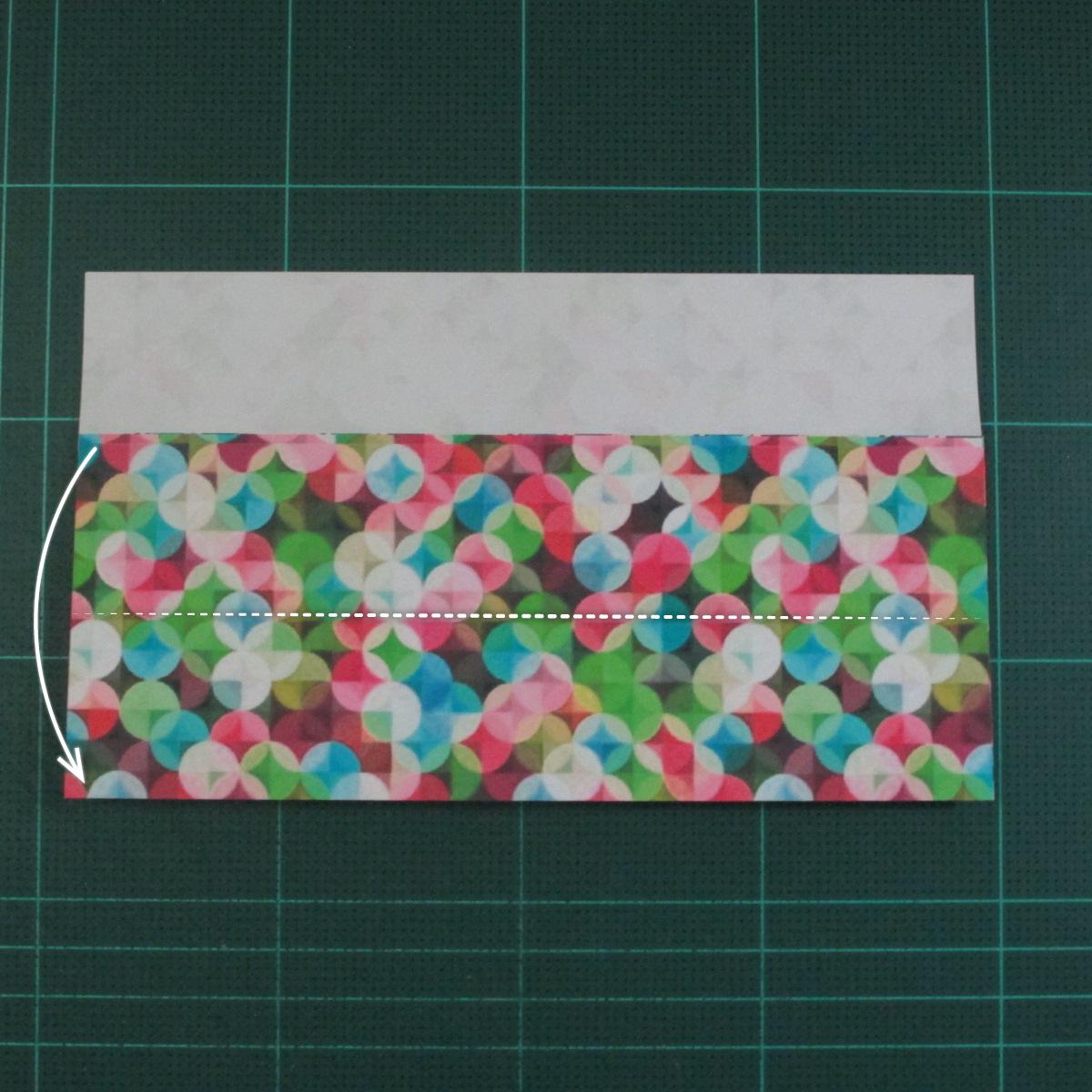 วิธีพับกล่องของขวัญแบบมีฝาปิด (Origami Present Box With Lid) 006