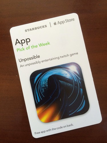 Starbucks iTunes Pick of the Week - Unpossible