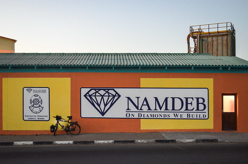 Namdeb office in Lüderitz