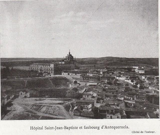 Tavera y la Antequeruela a comienzos del siglo XX. Fotografía de Élie Lambert publicada en su libro Les Villes d´Art Célebres: Tolède (1925)