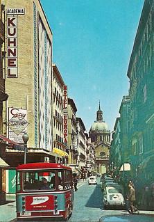 Calle de Alfonso I c.1966