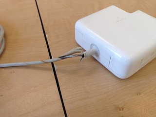 Apple: Melted MacBook Charger