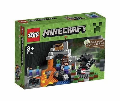 LEGO Minecraft 21113 The Cave BOX