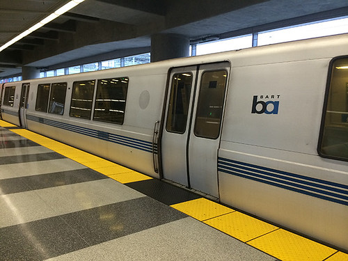 BART train SFO