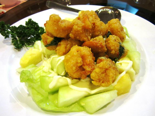 MingZiang Court creamy butter prawns