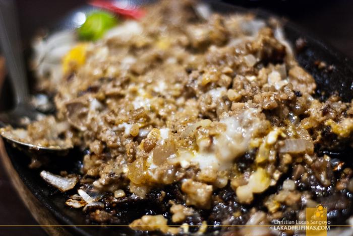 Sigig at Great Taste Pigar-Pigar Restaurant