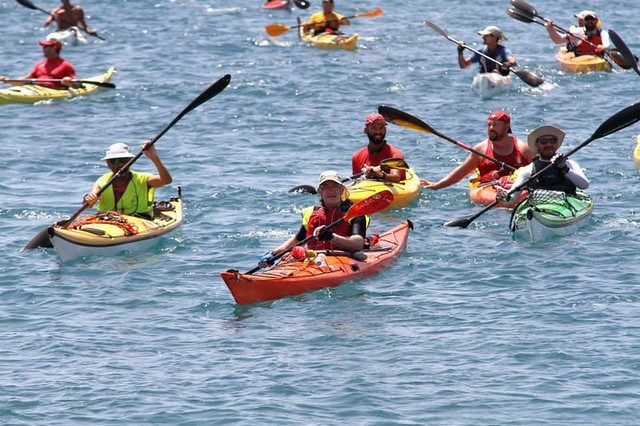 XVI Vuelta a Fuerteventura en kayak.