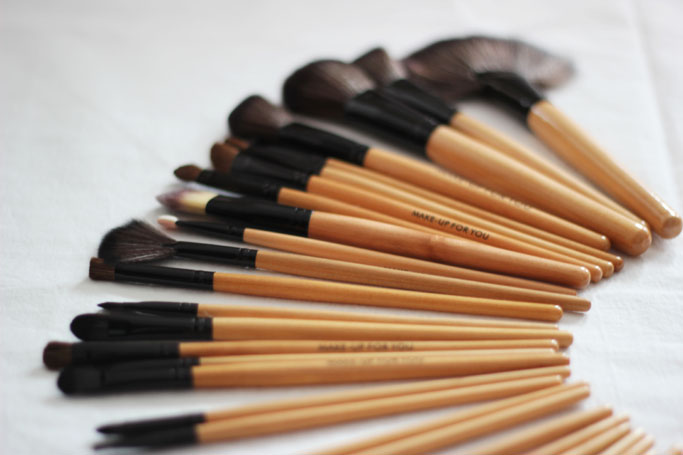 Günstiges Make-Up Pinsel Set- Brushes günstig