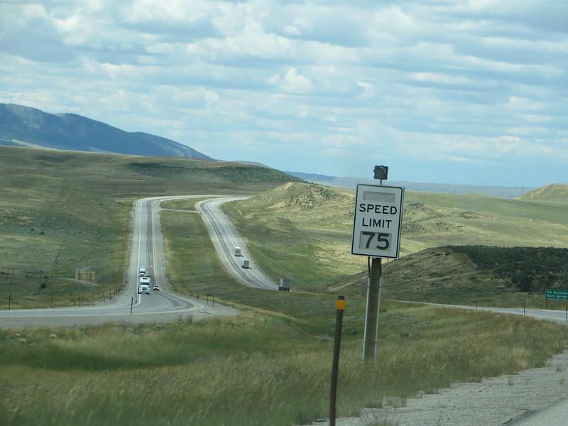 75 MPH, Wyoming