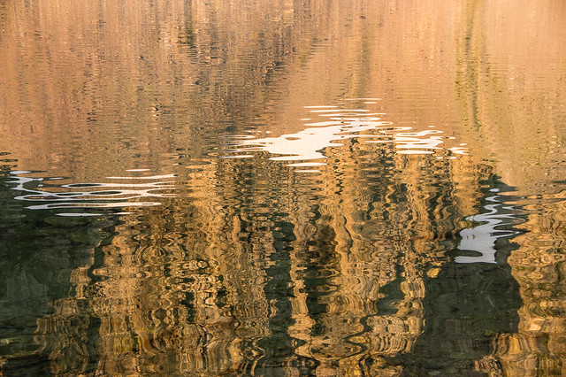 reflections in Lake Isabel
