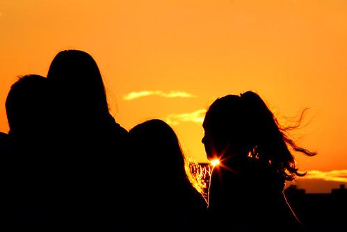 Together at dusk