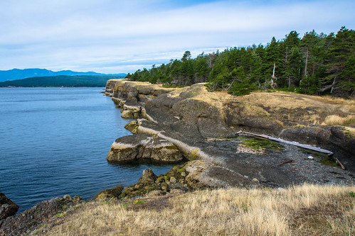 Cliffs at Helliwell Provincial Park