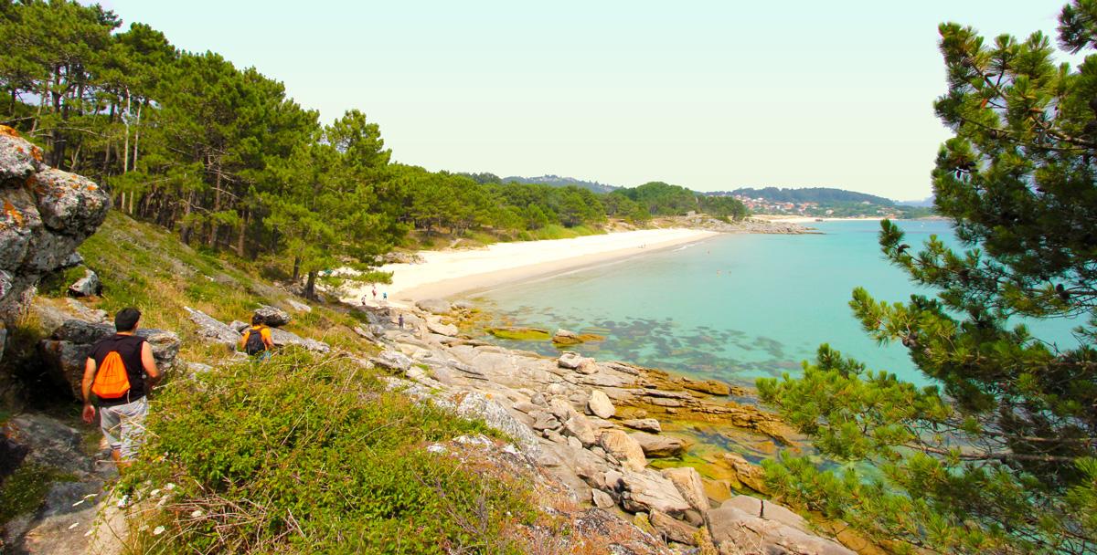 Praias de Viñó e de Barra