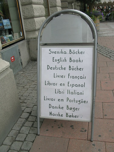 Stockholm bookstores