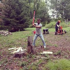 Luca the lumberjack.