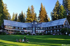 Olympic National Park - Lake Quinault Lodge