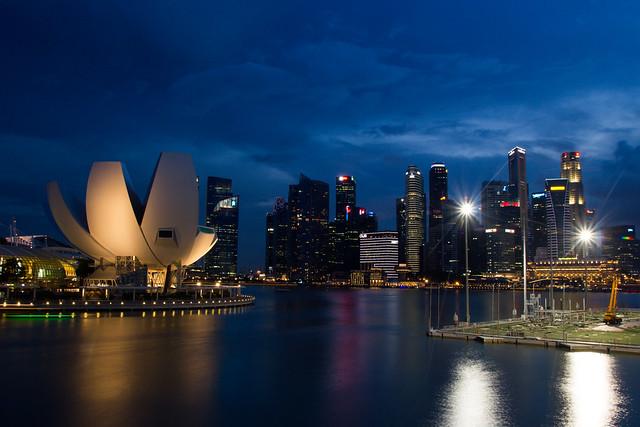 Singapore Night Scenes