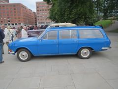 Classic cars in Scandinavia