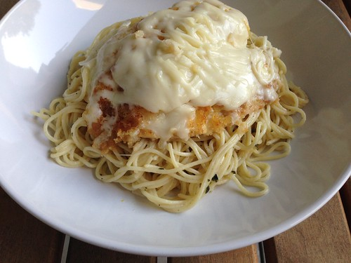Lemon chicken parm