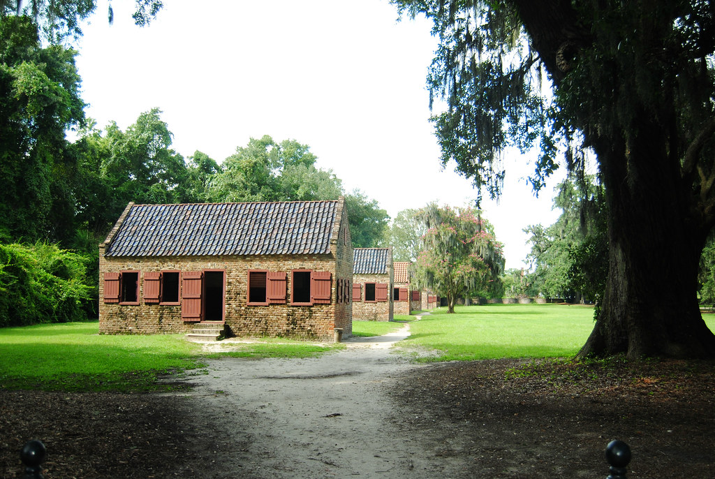 Boone Hall Slave Houses