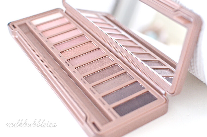 naked 3 palette milk bubble tea