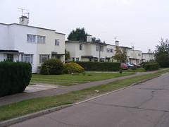 Silver End modernist housing